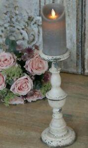 Kerzenständer 33cm Kerzenhalter Metall Leuchter Chic Antique vintage und shabby