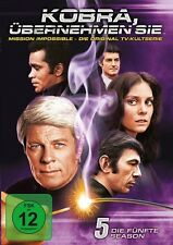 KOBRA,ÜBERNEHMEN SIE - SEASON 5 MB  6 DVD NEU  PETER GRAVES/GREG MORRIS/+