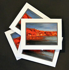 Golden Fall Morning - Note Cards