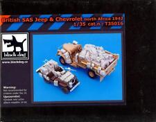 Blackdog Models 1/35 BRITISH SAS JEEP & CHEVROLET NORTH AFRICA Resin Detail Set