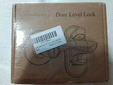 New listing Door Level Lock For Safety -Toddler Safety Door Lock Set of 2-New in sealed box