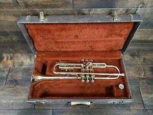 Olds Ambassador Trumpet Pre-owned w/ Hard Case + Mouthpiece No Reserve Auction!