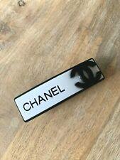 CHANEL VIP gift barrette hair clip big