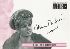 """The Women of Avengers : WAJL Jennie Linden """"Katie Miles"""" Autograph Card"""