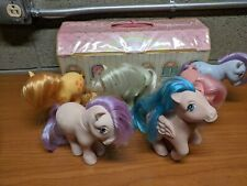 Vintage 1980s My Little Pony Lot with Case