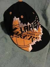 Vintage Rare La Lakers Snapback Cap collectable nba basketball , one of a kind