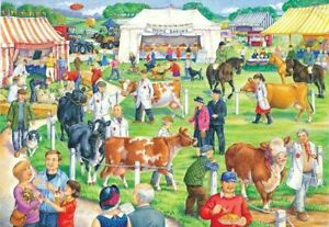 """House of Puzzles """"County Show"""" BIG 500pc Jigsaw Grange Collection"""