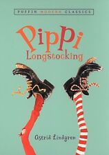 Pippi Longstocking by Astrid Lindgren (New Paperback book)
