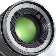 Excellent CONTAX Zeiss Sonnar 100mm 3,5 MMJ Lens CONTAX RTS/YASHICA ML Mount
