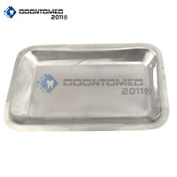Small Instrument Tray Stainless Tattoo/Piercing Medical 10X6X3/4