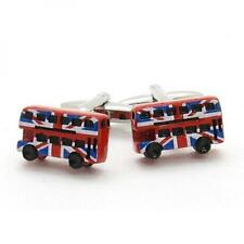 Union Jack London Red Bus CUFFLINKS Driver Conductor Christmas Present GIFT Box