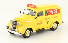 Chevrolet Van 1942 Coke Coca Cola Rare Truck Argentina Diecast Scale 1:43+Mgzine