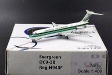 "Evergreen  DC9-30 "" Reg: N940F 1:400 Net models LAST 3 PIECES"