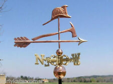 """COPPER """"FIREMAN """" WEATHERVANE MADE IN USA #317S"""