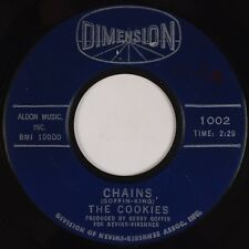 THE COOKIES: Chains / Stranger in my Arms DIMENSION Soul Classic 45 HEAR