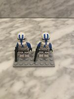 Genuine LEGO Star Wars Minifig 501st Clone Trooper Minifigure (sw0445)