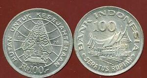 INDONESIA  INDONESIE  100  rupiah  1978  ( etat )