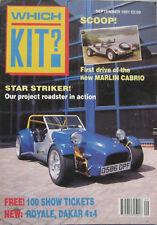 Which Kit? magazine 09/1991 featuring Marlin, JBA, Quantum, Dakar