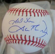 """GOD BLESS"" AUTOGRAPHED GARTH BROOKS SIGNED BASEBALL MLB COUNTRY MUSIC SINGER"