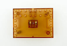 BULK 6 X LED LIGHT UP DISPLAY STAND CLEAR ORANGE COLOUR BASE COMPATIBLE FOR LEGO