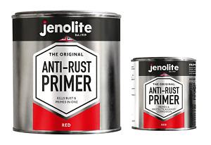 JENOLITE Anti-Rust Metal Primer - Red Oxide Primer - High Corrosion Resistance