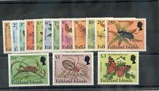 FALKLAND IS Sc 397-401(MI 390-404)**VF NH 1984 INSECTS SET $60
