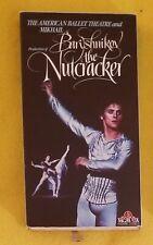 THE NUTCRACKER, VHS, The American Ballet Theatre & Mikhail Baryshnikov,