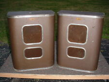 Very Rare Pair of Jensen B-81 Bass Reflex Speakers from Western Electric Era
