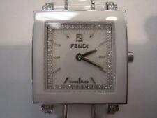 Fendi White Dial Ladies Ceramic Watch F622240DDC
