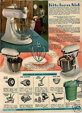 1965 PAPER AD Mixer KitchenAid Can Opener Knife Sharpener Presto Rock 'N Mix