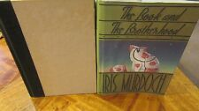 The Book and The Brotherhood ~ Iris Murdoch. 1st US HbDj 1988  Witty   in MELB!