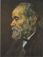 """oil painting handpainted on canvas """" Portrait of an old man with a beard"""""""