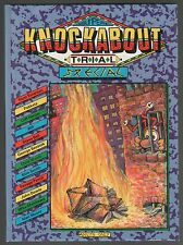 Knockabout Trial Special Hardcover Graphic Novel 1st Print Alan Moore 1984 Gn Nm