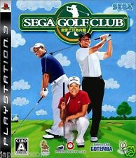 Used PS3 Sega Golf Club SONY PLAYSTATION 3 JAPAN JAPANESE IMPORT
