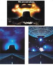 CLOSE ENCOUNTERS OF THE THIRD KIND - 1980 Promotional cards - Steven Spielberg