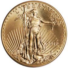 2017 $25 American Gold Eagle 1/2 oz Brilliant Uncirculated