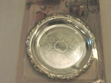 Pair of 1988-89 Readers Digest Silver Plated Coasters New