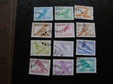 BENIN - 12 timbres obliteres (année 2000) (COT1) stamp