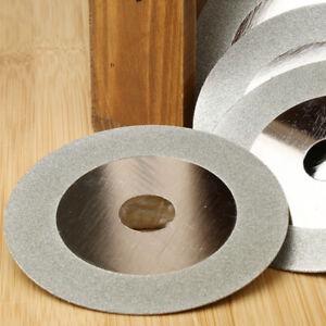 "4"" 100mm Diamond Coated Glass Grinding Cutter Saw Blade Wheel Disc Rotary Tool"