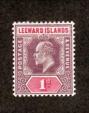 Leeward Islands--#21 MH--1902 King Edward VII