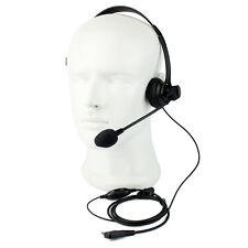 2 PIN VOX PTT micro casque casque pour RETEVIS KENWOOD Baofeng UV5R WOUXUN/PUXIN