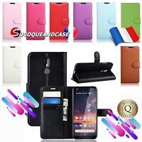 Etui coque housse Cuir PU Leather XXL COLORS case cover Nokia 2.2, 3.2 ou 4.2