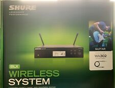 Shure BLX14R Wireless Instrument System (Rackmount Vers (NEW SEALED) Free UK P&P