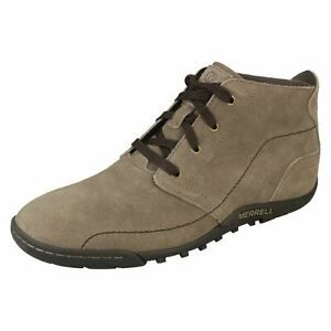 Mens Merrell Casual Lace-Up Ankle Boots Sector Hilltop