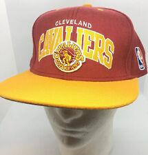 Mitchell & Ness Cleveland Cavaliers Snapback Hat Cap Flat Brim NBA - EUC