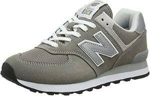 New Balance Damen Leder 574v2 Core Sneaker Grau/Grey GR 38EU WL574EB 03A6152I