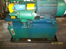 10 Horse Power Hydraulic Pump and Tank