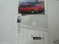 BMW DIT IS BMW 1997 BROCHURE PROSPEKT FOLDER 316,318,320,323,328,325
