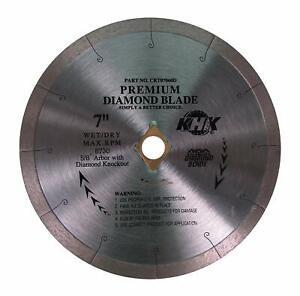 """4"""" 7"""" 10"""" 12"""" Continuous Diamond Saw Blade Cut Tile, Porcelain,Stone"""