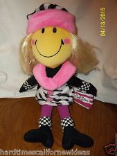 "Commonwealth Smiley Face Cool Diva 15"" Plush Doll"